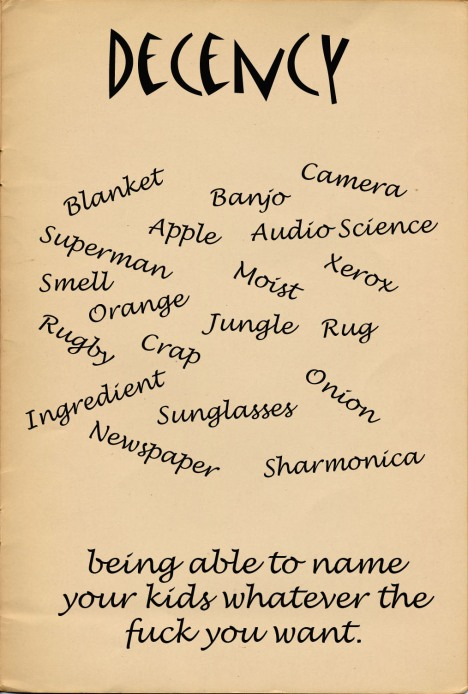Nugget Names